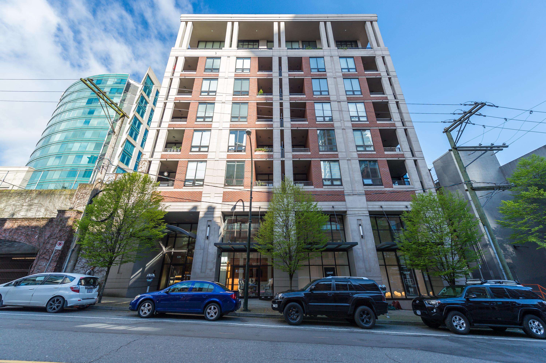AlbrechtBrown Vancouver Condo 531 Beatty Street Building
