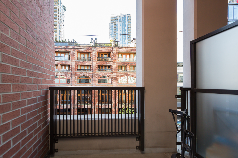 AlbrechtBrown Vancouver Condo 531 Beatty Street Balcony