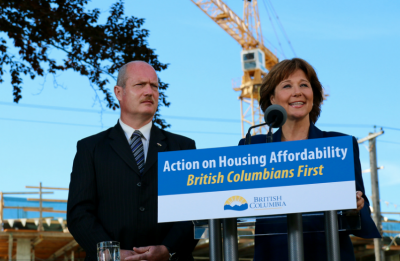 Province of BC Announces First Time Buyer Loan